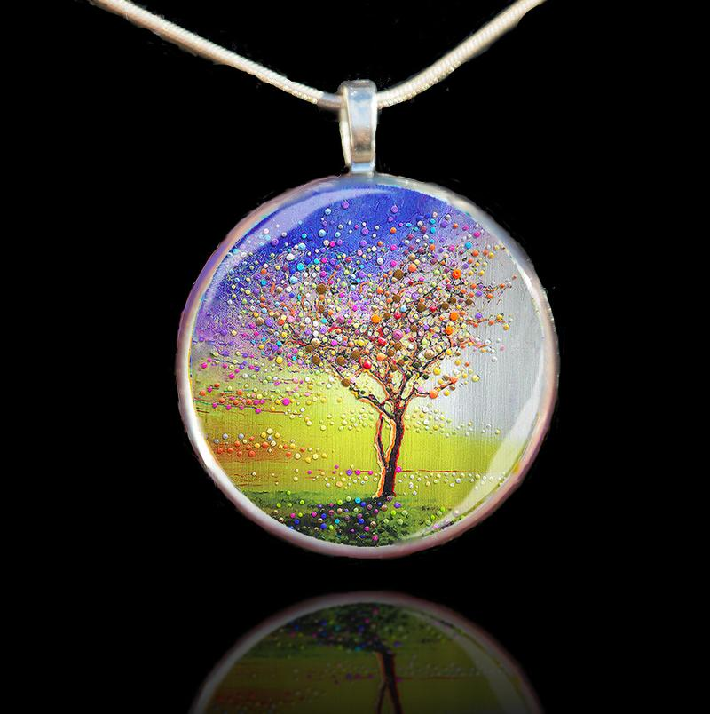Peace Tree Pendant