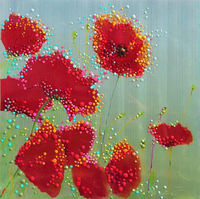 Zen Poppies Print