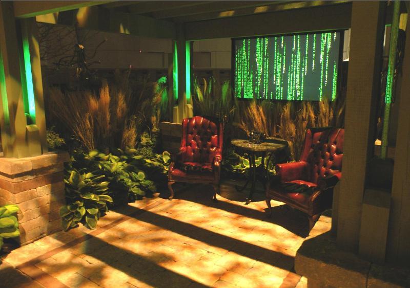"""""""The Matrix"""" First Place Garden at the IX Center"""