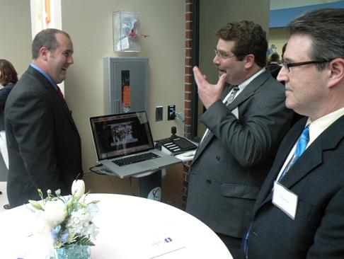 Clay, Gary and Michael at EATC