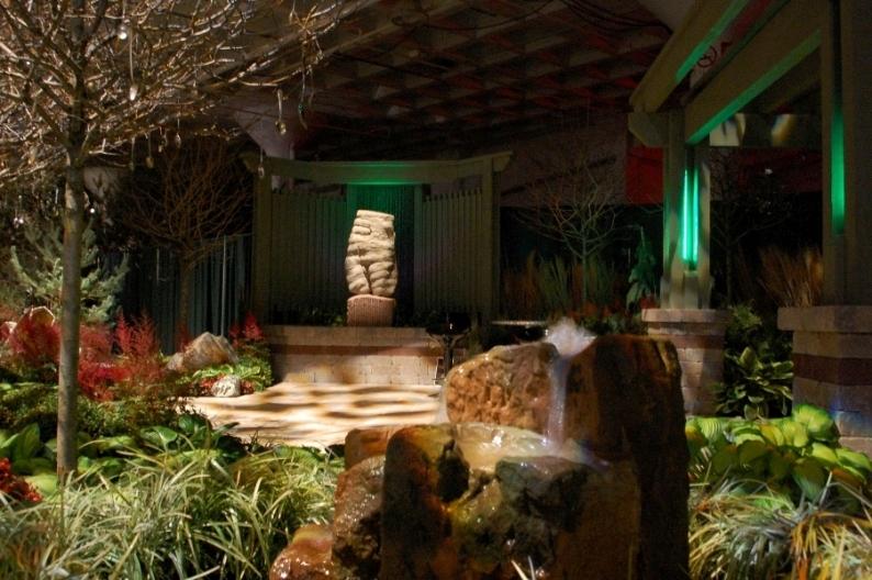 Matrix fountain and Sculpture