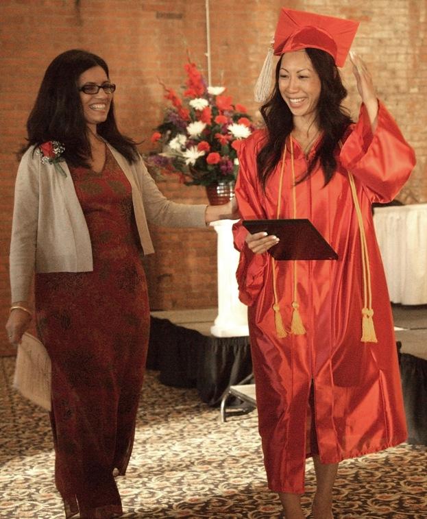 Liz and Cristina