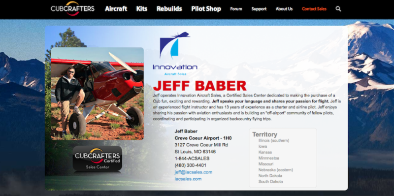 Innovation Aircraft Appointed the New Midwest CubCrafters Dealer
