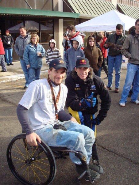 Chris Hrabik and Travis Pastrana