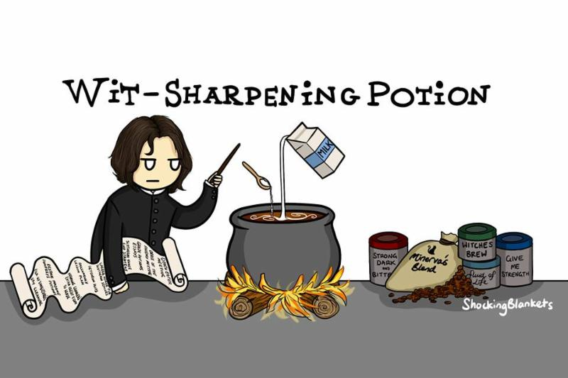 Wiit-Sharpening Potion, by ShockingBlankets