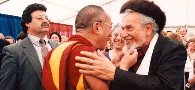 Reb Zalman and Dalai Lama