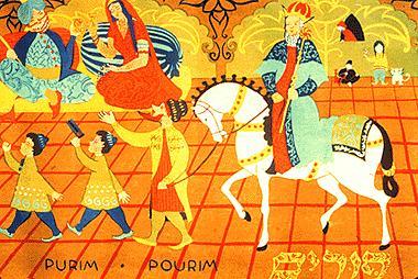 Purim procession