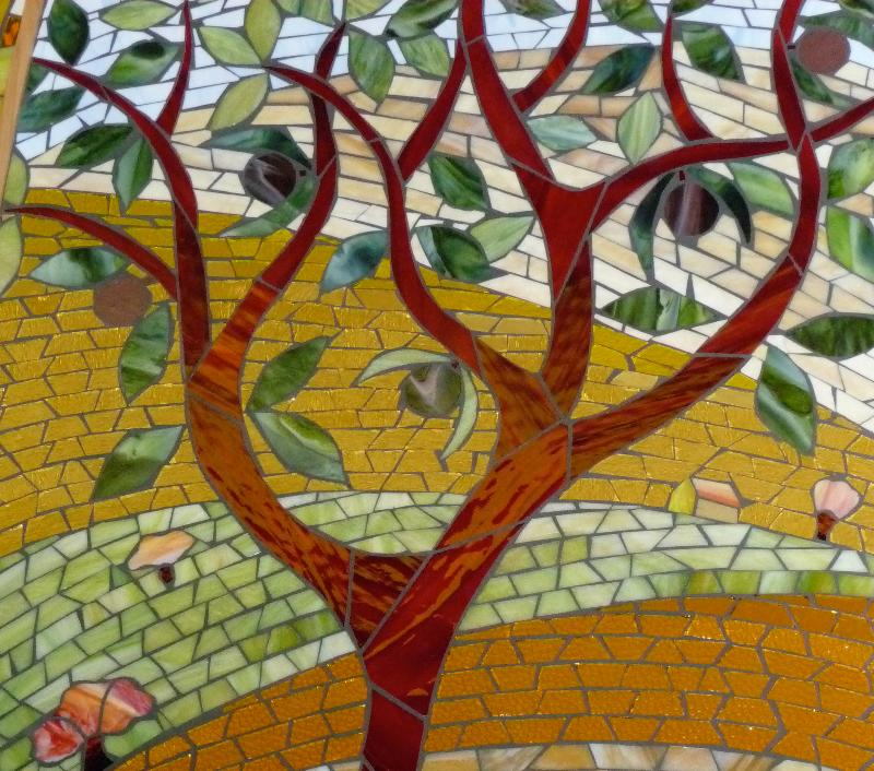Mosaic Tree Close Up