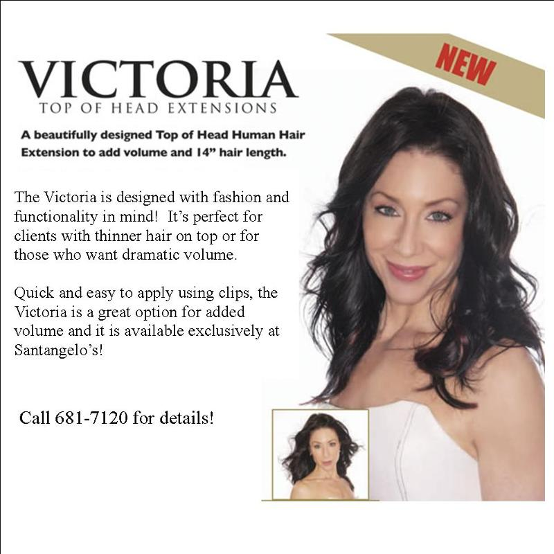 Victoria - Top of the head hair extensions