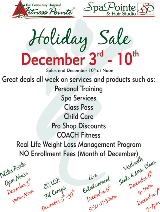 Holiday Sale 2011