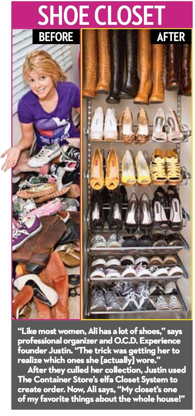 Ali shoe closet by OCD