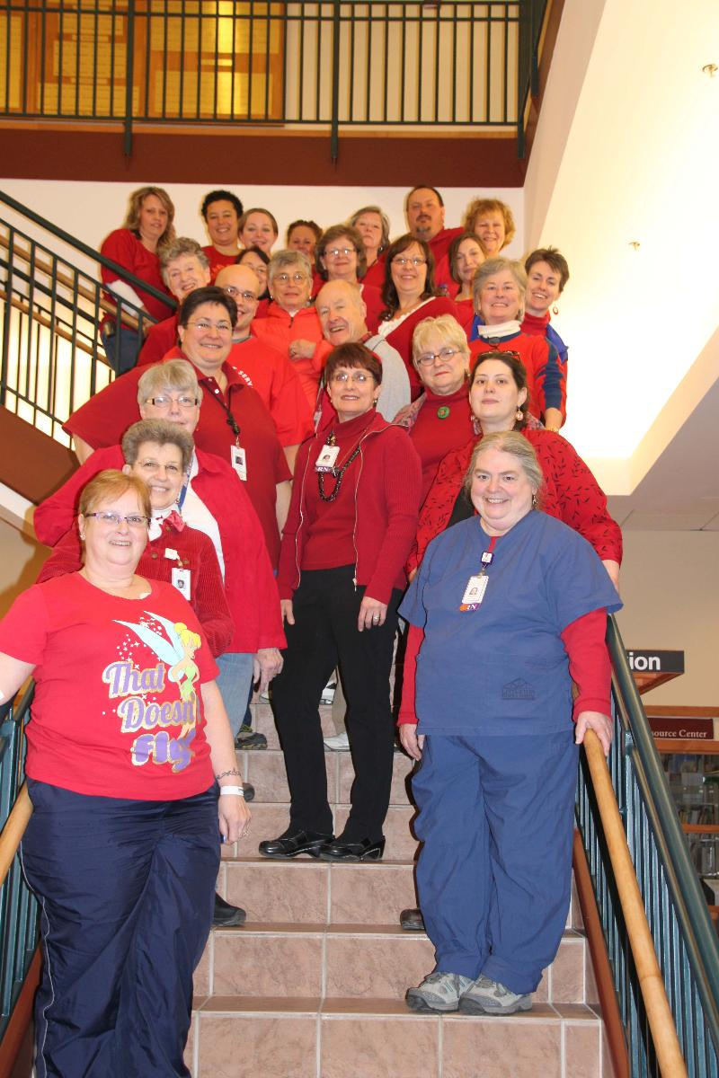 Wear Red Day at LRH