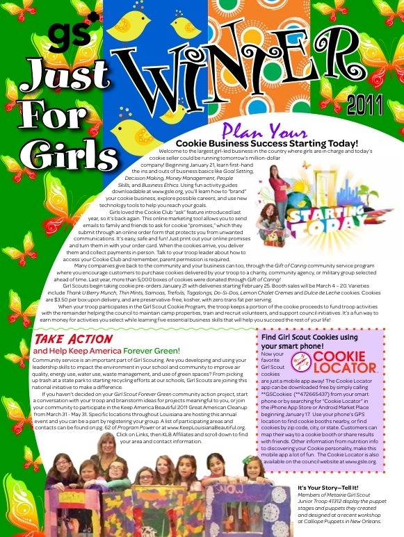Just for Girls Winter 2011