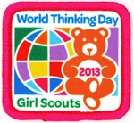 World Thinking Day patch