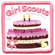 GS birthday patch