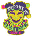 Mardi Gras History patch