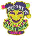 Mardi Gras History patch