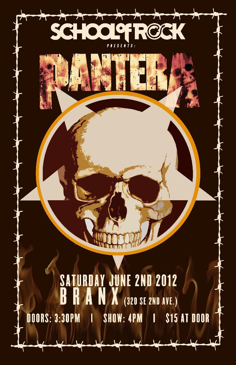 pantera show booked