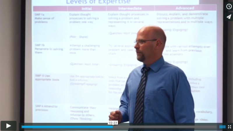 Evaluating Students Level of Expertise with the SMP
