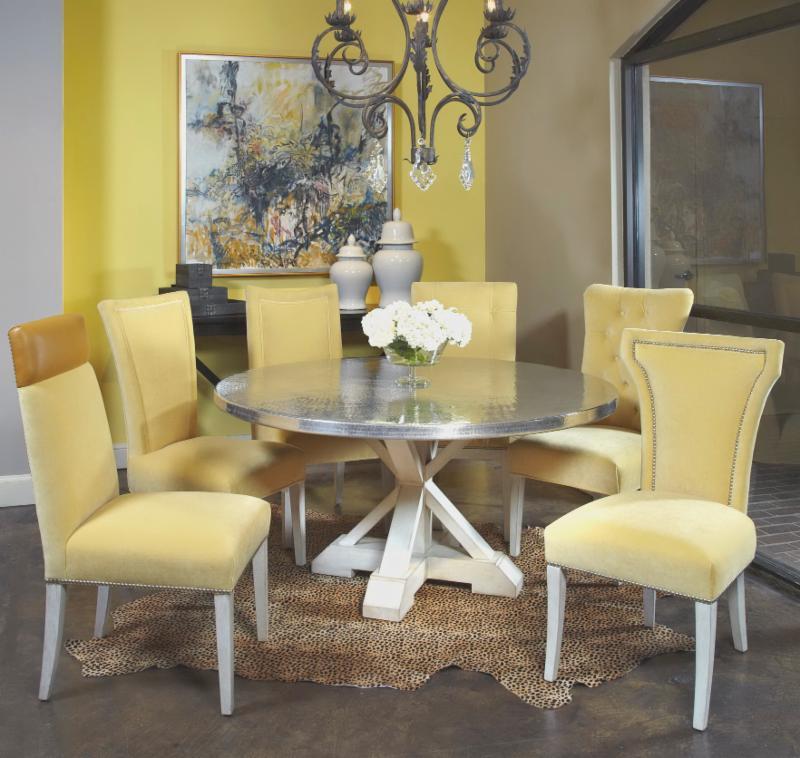Custom Designed Fine Furniture Made In America Fremarc Logo White - Fremarc dining table