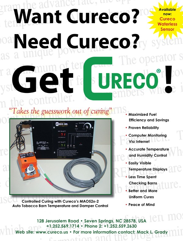 Get Cureco. Takethe guesswork out of curing.