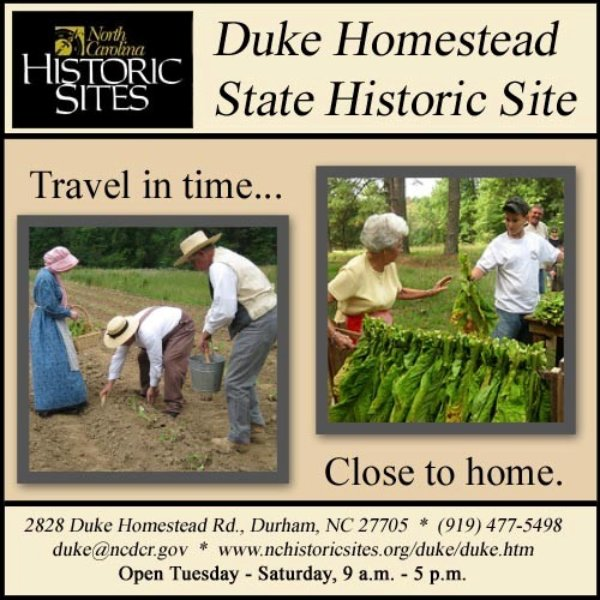Visit Duke Homestead
