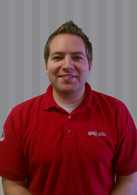 This is the photo of Adam Bostrom the Marketing Director at AlphaGraphics.