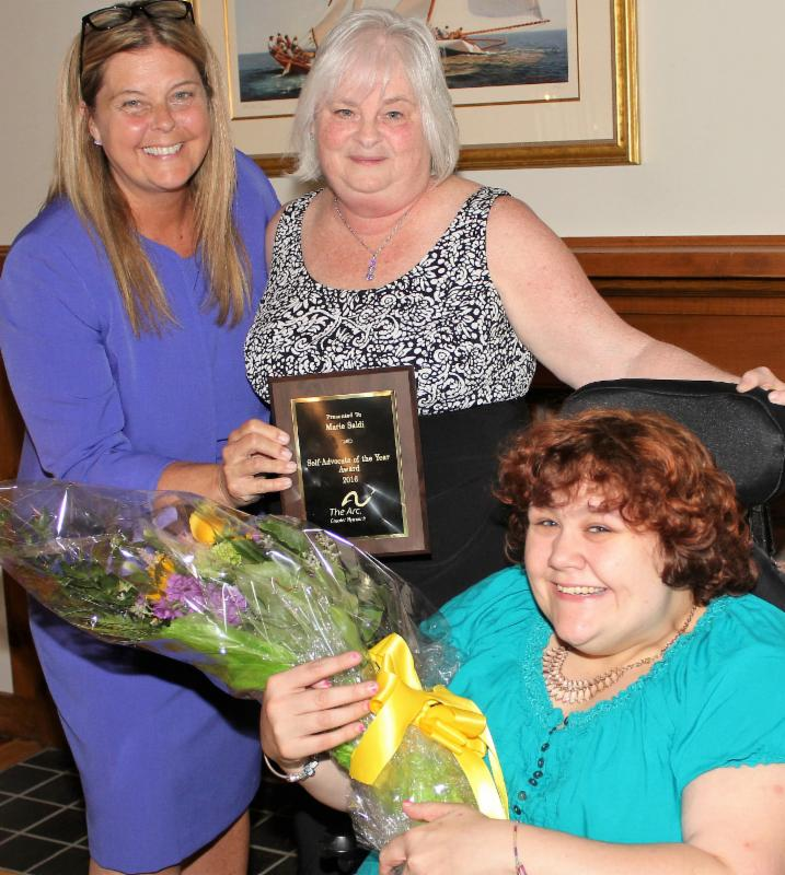 Congratulations to Marie Saldi, Self-Advocate of the Year