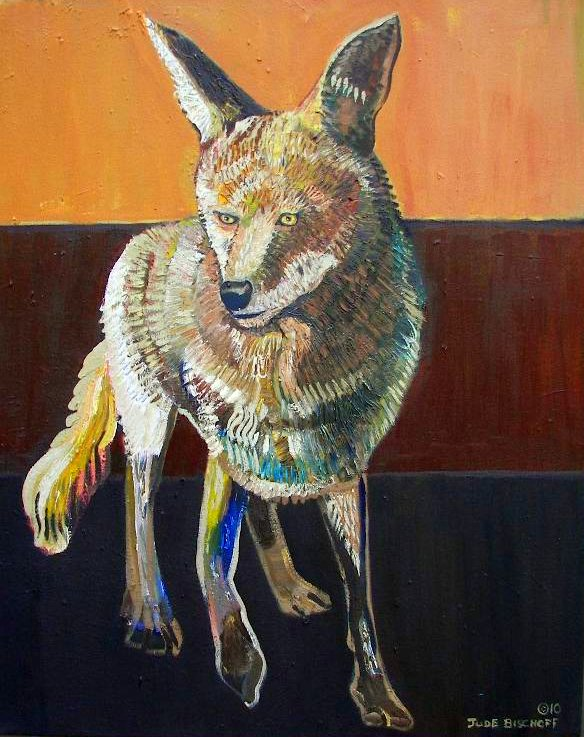 Coyote in Oil