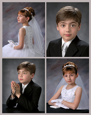 Traditional Communion Portrait