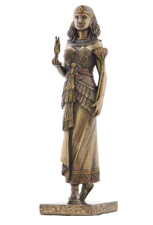 Egyptian Queen with Anubis