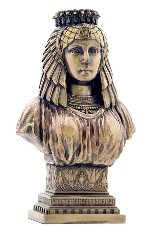 Egyptian Queen with Vulture Crown