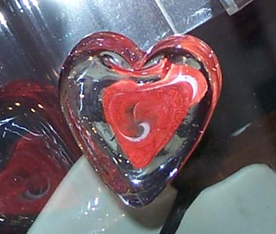Heart of Glass at Springfield Hot Glass Studio