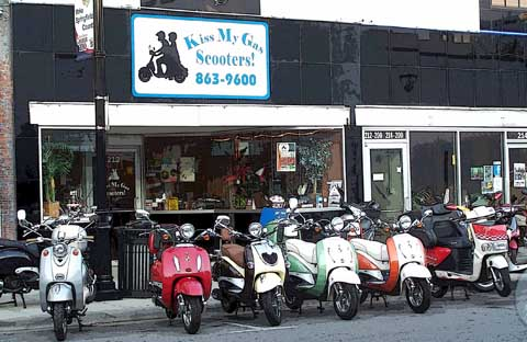 Kiss My Gas Scooters