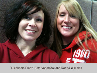 Women in Red - Oklahoma Plant