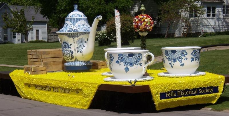 Teacup float