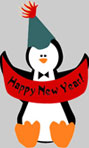 Happy New Year Penguin2
