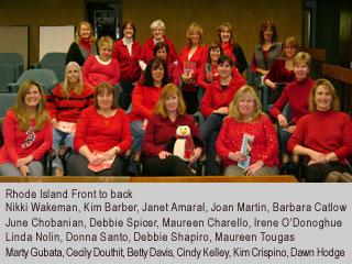 Women in Red - Rhode Island