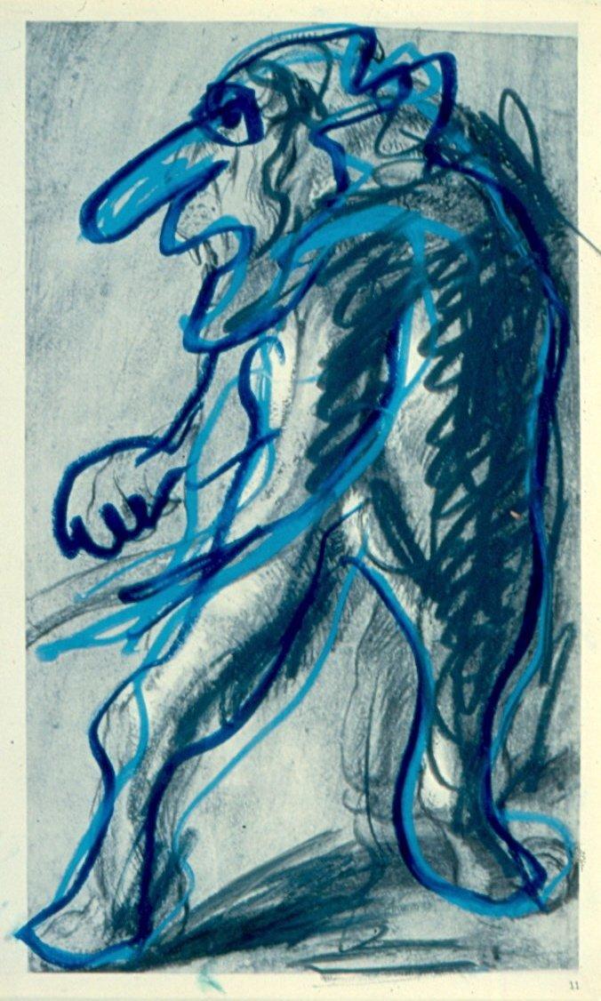 Phantasmagoria No. 162 by Karel Appel
