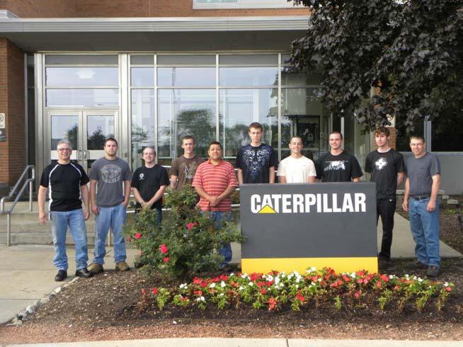 Caterpillar group photo