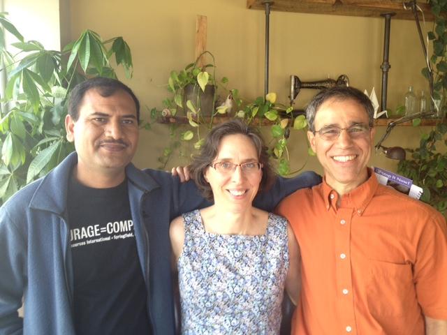 Babar, Sarita & Steven