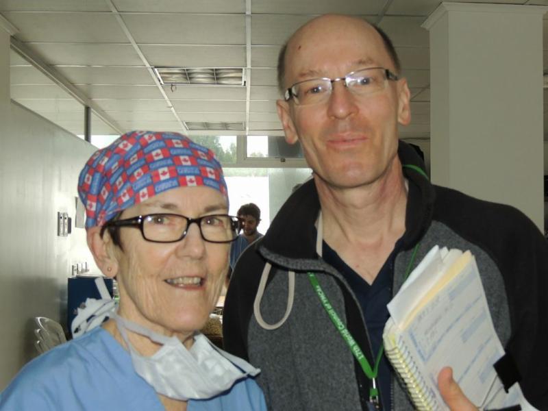 Eileen and John