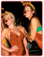 Undie Run Reindeer