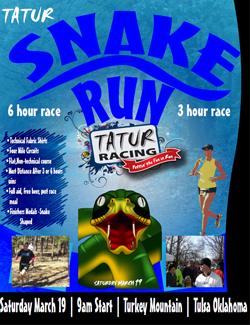 Snake Run Flyer