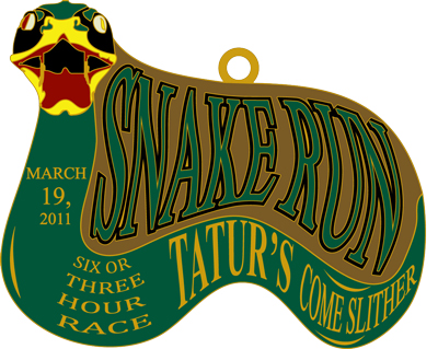 2011 Snake Run Finishers Medal