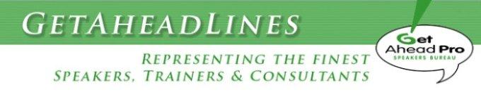 Get Ahead Pro Speakers Bureau GetAheadLines eNewsletter