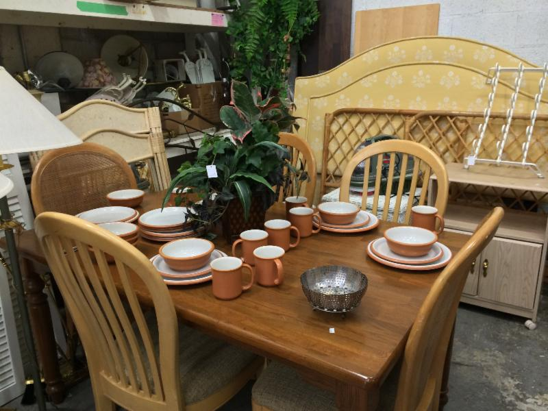 We Receive Generous Donations Of New Items Daily So Invite You To Shop Often Maybe Your Next Dining Room Set Or Favorite Handbag Is There Waiting