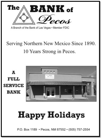 Bank of Pecos