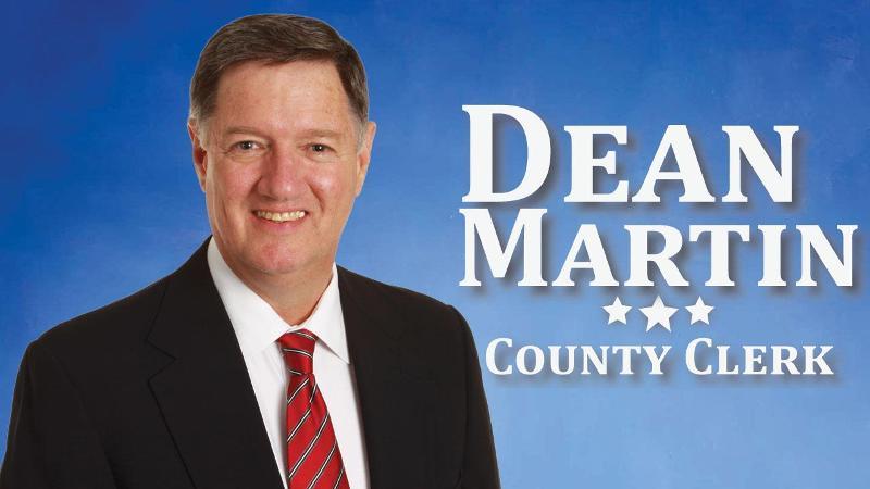 Dean Martin for County Clerk