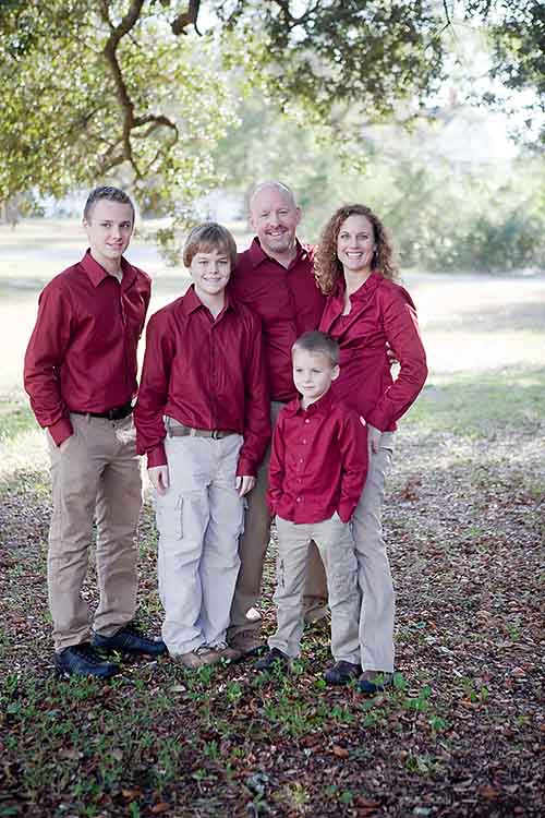 Dave Pyburn and family